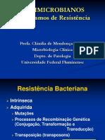Antimicrobianos Mecanismos de Resistencia
