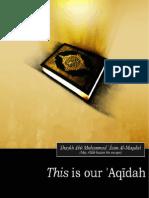 Our Aqeeda... Faith,