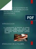 Cultura Solidaria- Diapositivas Augusto Diaz