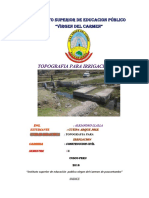 Cutipa Arque Informe de Irrigacion