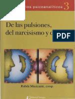 Rubén Musicante (2005) - De Las Pulsiones Del Narcisismo y Del Goce (Comp)
