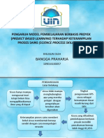 Sidang Pengaruh Model Pembelajaran Berbasis Proyek (Project Based
