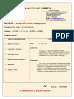 Strategic HR Training Program