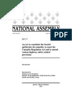 Quebec Cannabis Bill November 2017