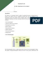 4. Study Basics of Gas Analyser_Ankit Gupta_0201ME16ME03