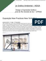 Exposição New Practices New York 2014