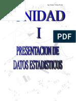 Unidad I_Presentación de Datos Estadísticos