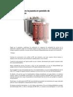 Condiciones para la puesta en paralelo de Transformadores.docx