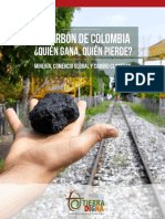 Informe Carbon - rapport Coal in Colombia ngo Tierra Digna