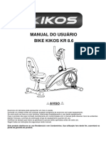Bike Kikos KR 8.6 - 17 Programas - Showroom - - Bivolt
