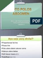 Radiologi Modul Pencernaan