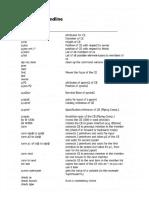 PDMS-commandline