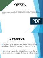La Epopeya y Sus Características