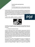 Teoría Del Psicoanálisis Según Sigmund Freud (TEMA 8 EL CUERPO COMO BASE NATURAL)