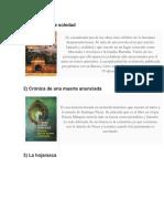 Principales Obras de García Márquez