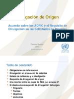 1-UNCTAD-Introduccion- Divulgacion de Origen Thamara
