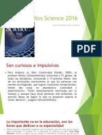 Estudios Science 2016