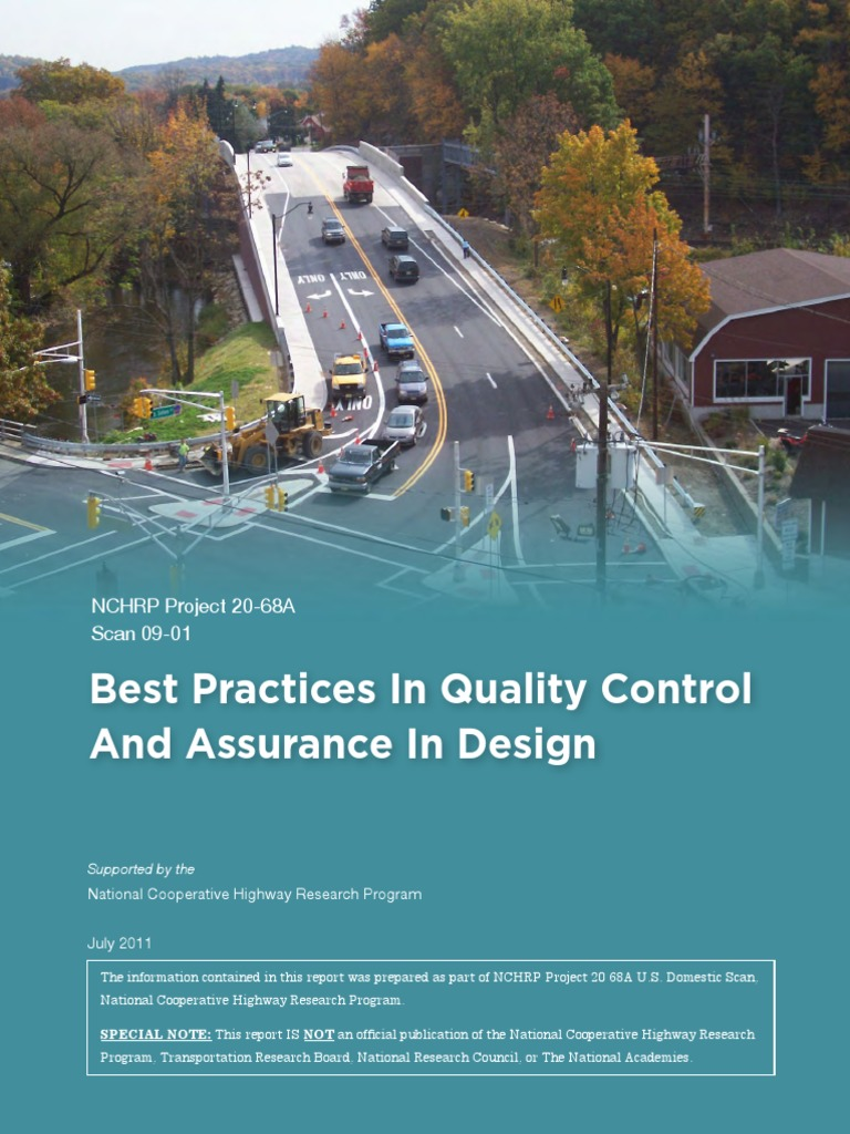 best practices in quality control 101 pdf