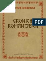 Brancovic i g He Cronica Rom 1