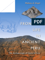 Preview of Frontier Life in Ancient Peru the Archaeology of Cerro La Cruz