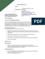 Silabus Entrepreneuship Revisi Baru 2 Sept 2015