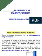 BOLA SUSPENDIDO MAGNETICAMENTE.ppt