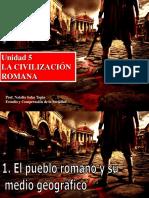 Unidad 5 La Civilizacion Romana