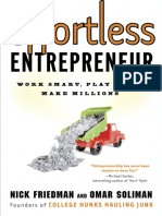 Effortless Entrepreneur by Nick Friedman and Omar Soliman - Excerpt
