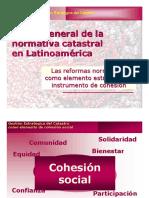 Vision General Normativa Catastral Latinoamerica