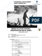 0_0 Mining Dilution Control _ Course