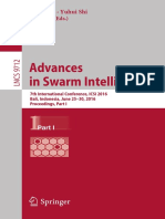 - Advances in Swarm Intelligence
