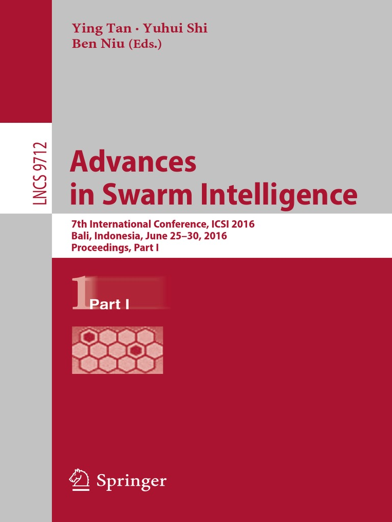Advances in Swarm Intelligence | Bali | Cluster Analysis