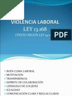 Mod 3 Clase 3 1ra Parte - Violencia Laboral