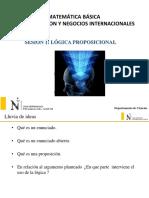 Diapositiva 1 - Logica Proposicional (1)