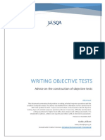Writing Objective Tests (2nd Edition)
