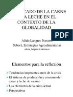 El Mercado de La Carne y La Leche en El Contexto de La Globalidad
