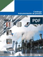 Catalogo Equipos Control en linea de Proceso