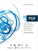 Relatório HBSC (Health Behaviour School Aged Children) 2014