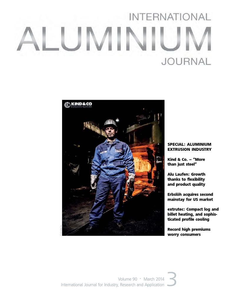 International Aluminium Journal March 2014 | Alcoa | Metals