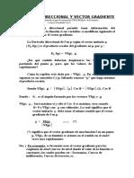 Derivada direccional y Vector Gradiente.doc