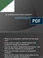02.Agroecosystem Concept