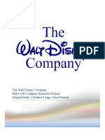 Disney Company Analysis