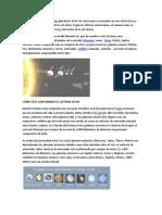 Sistema Solar y Creacion
