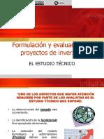 estudio tecnico (proyectos)