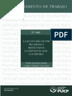 La Economía de Ppk. Promesas y Resultados - Waldo Mendoza