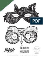 NikiJinCrafts_HalloweenMasks