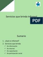 Servicios Que Brinda Infomed