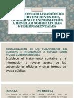 Nic 20 Contabilización de Las Subvenciones Del Gobierno