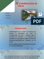 Ecuacion de Conservacion de Masa y Funcion Corriente