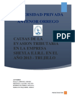 232633076 Causas de Evasion Tributaria Proyecto